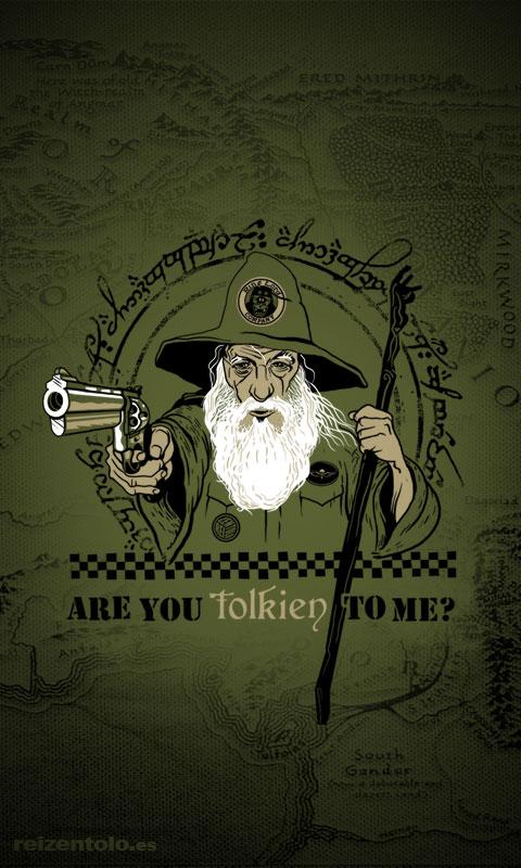 fondo de pantalla Tolkien