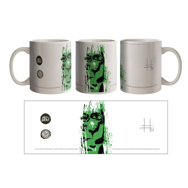 Taza solidaria Hugo - Art...